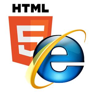 Включаем поддержку HTML5 в IE