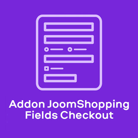 Addon JoomShopping Fields Checkout